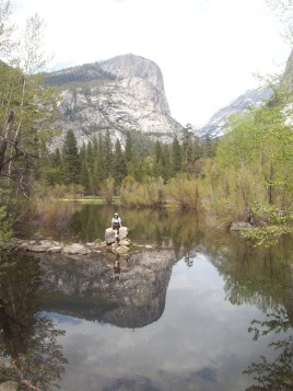 Mirror Lake , Yosemite.